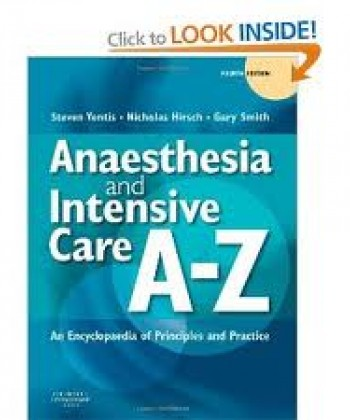 Anaesthesia And Intensive Care Medicine