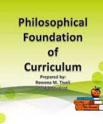 HISTORICAL DEVELOPMENT OF PHILOSOPHICAL IDEAS IN EDUCATION