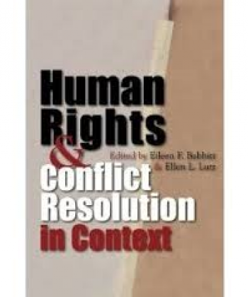 HUMAN RIGHTS AND CONFLICT RESOLUTION IN AFRICA