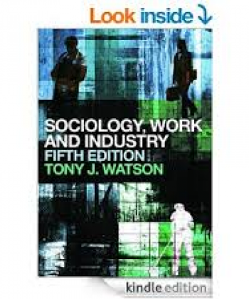 Sociology of Work and Industry